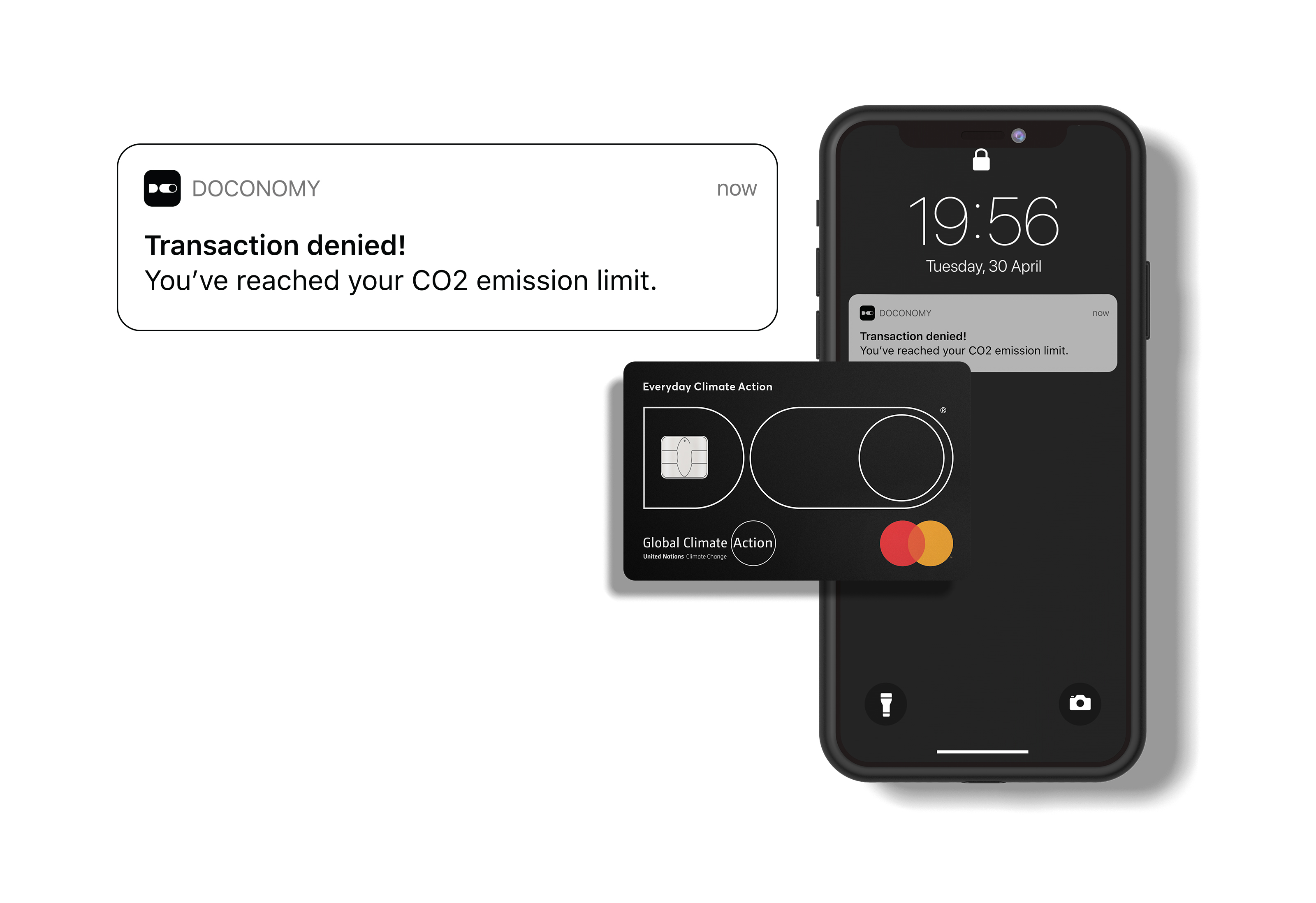 Mastercard and Doconomy join forces to tackle climate change