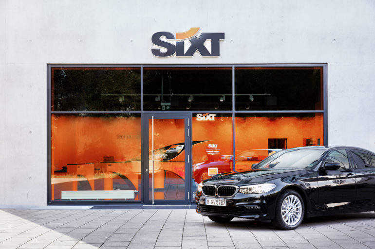 Sixt Car Rental Management Uk