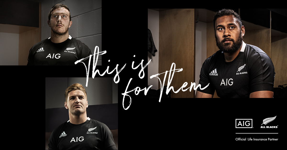 AIG Life unveils sponsorship campaign with New Zealand All Blacks
