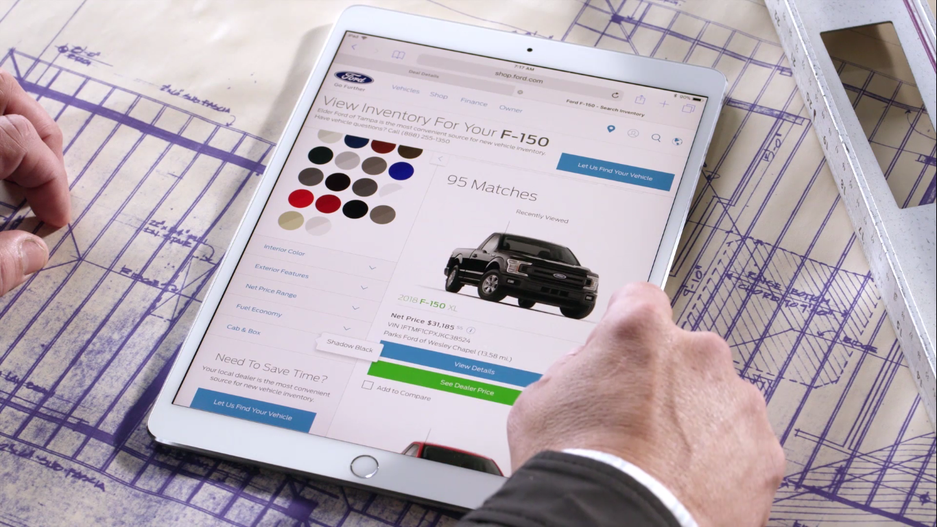 Ford Launches Online Storefront In The Us Motor Finance