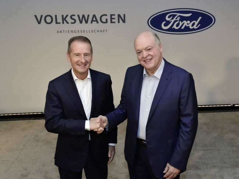 Ford & VW expand alliance to autonomous and EV technology