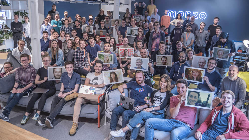 Monzo Team 1 - Monzo unicorn status confirmed after raising £85m
