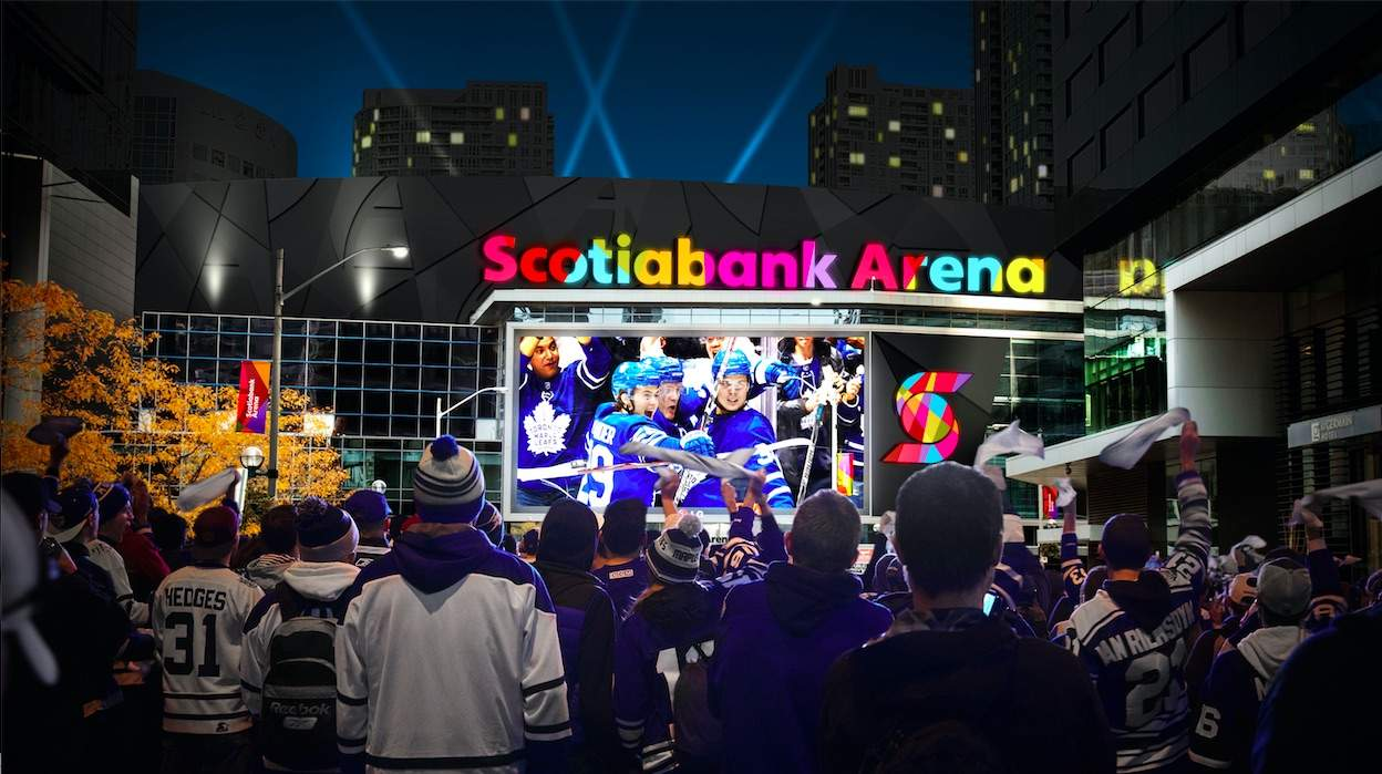 Scotiabank Arena Exterior - Scotiabank Arena: new name in record-breaking deal