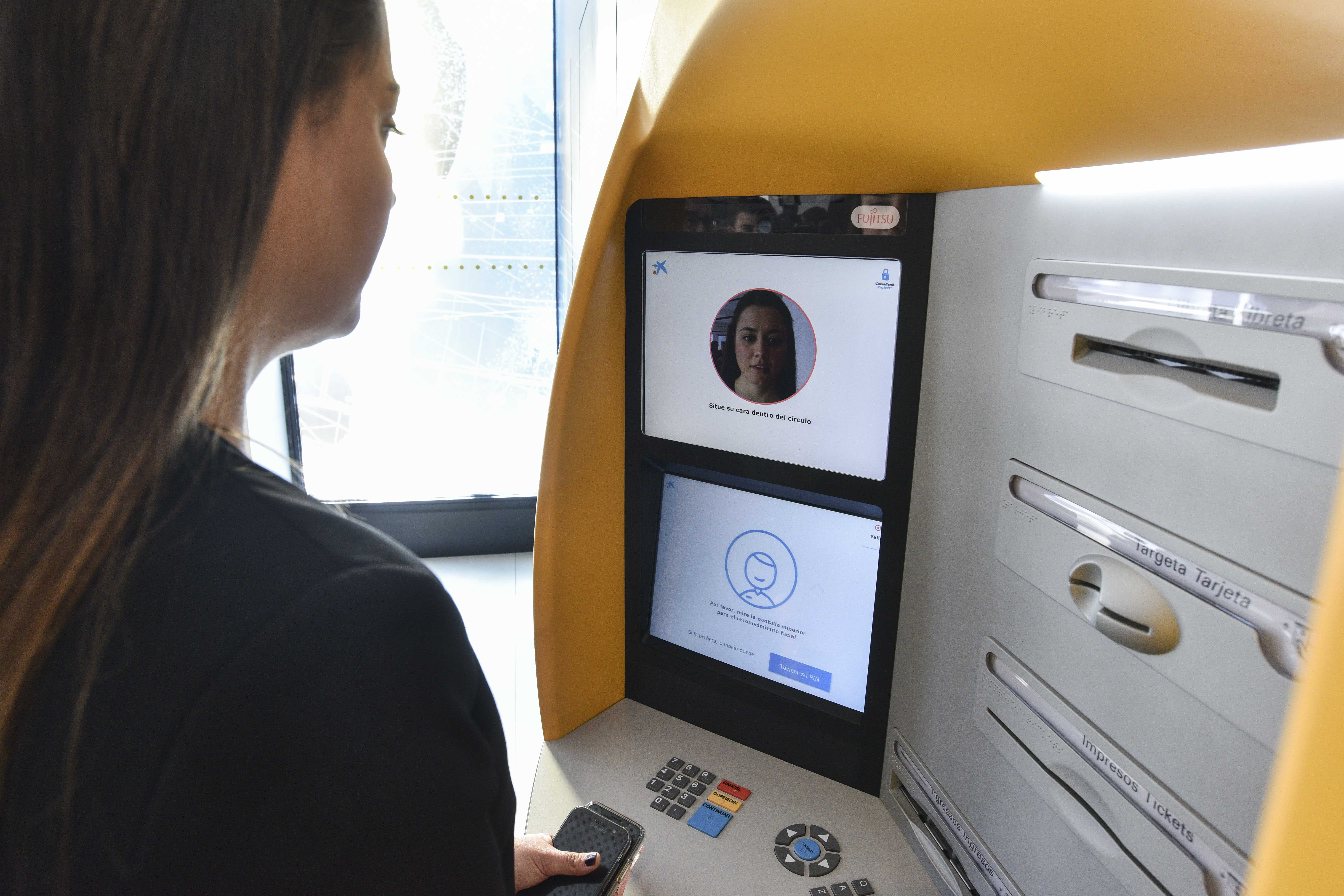 CaixaBank brings facial recognition to cash withdrawal for the first time