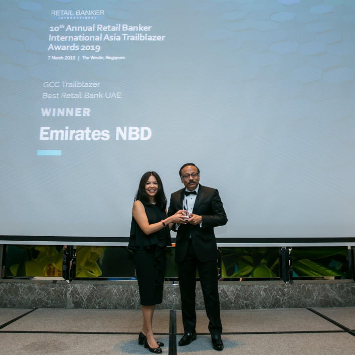 emirates uae - RBI Asia Trailblazer Awards: Emirates NBD and Suvo Sarkar top the bill
