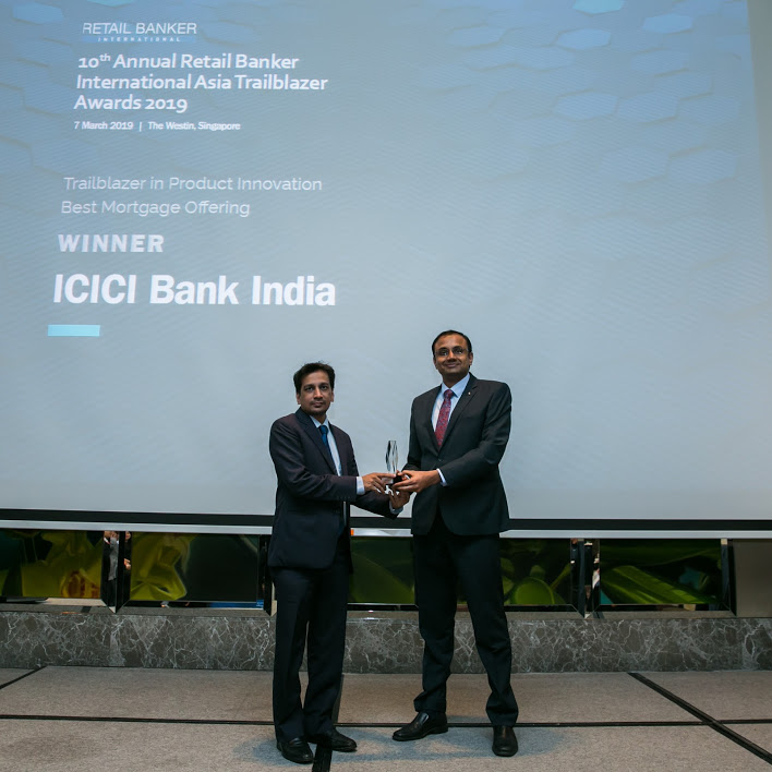 icici best mortgage - RBI Asia Trailblazer Awards: Emirates NBD and Suvo Sarkar top the bill