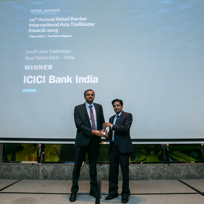 icici india 1 - RBI Asia Trailblazer Awards: Emirates NBD and Suvo Sarkar top the bill
