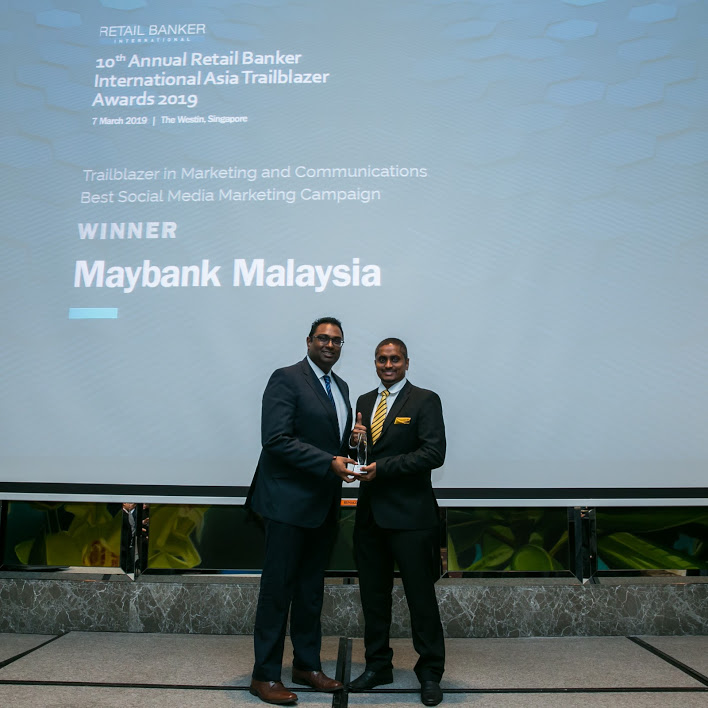 maybank social media - RBI Asia Trailblazer Awards: Emirates NBD and Suvo Sarkar top the bill