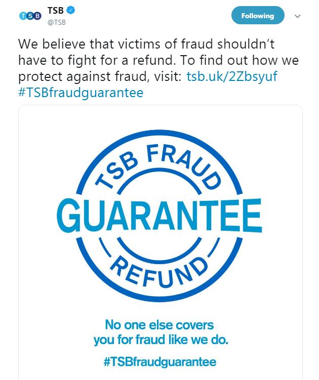 TSB Fraud Refund Guarantee