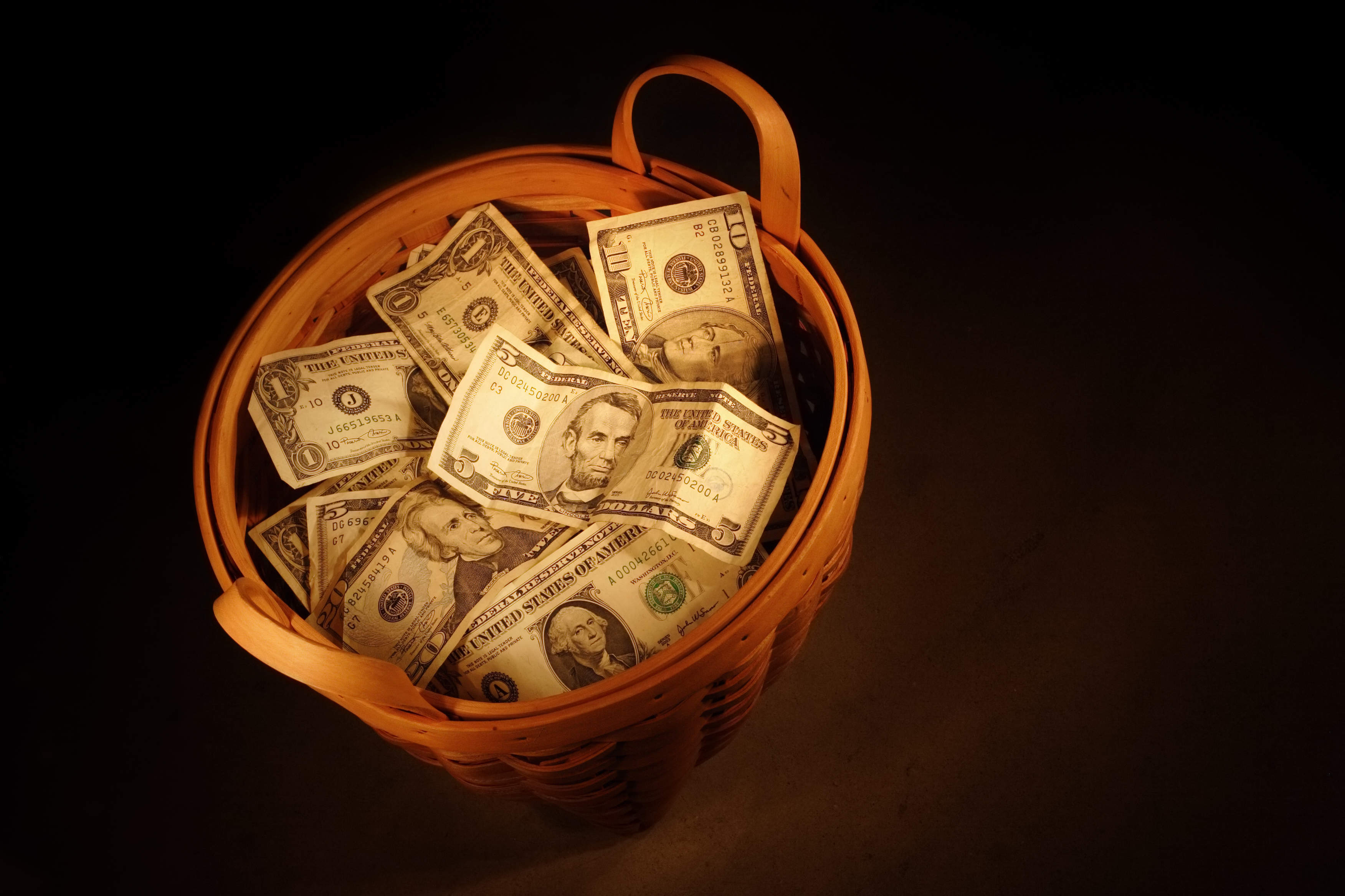 Are US millionaires putting all their eggs in one basket?