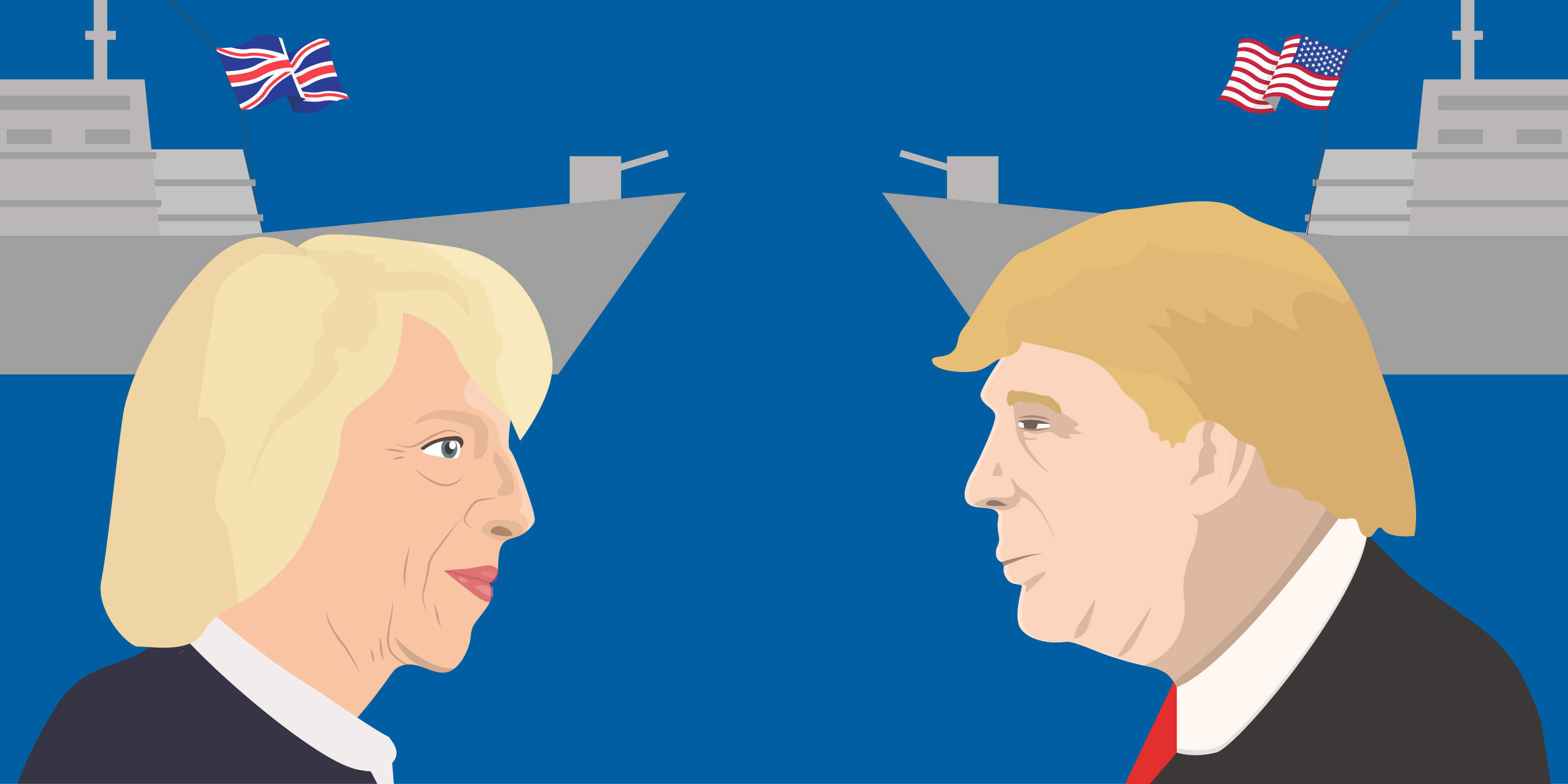 Theresa May is meeting Donald Trump today — a win for feminism?