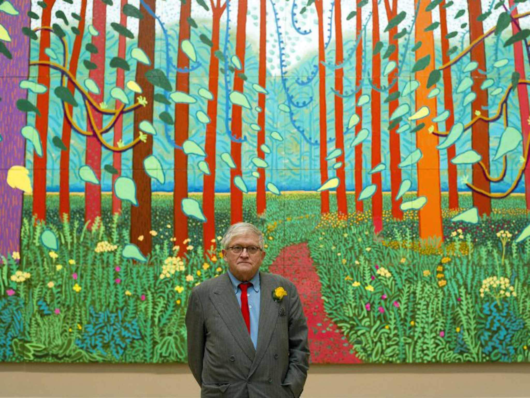 Favori David Hockney is about to smash art exhibition records | Verdict CA64