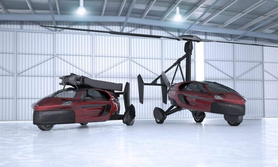 There's only £225,000 between you and the flying car of your dreams. Sort of