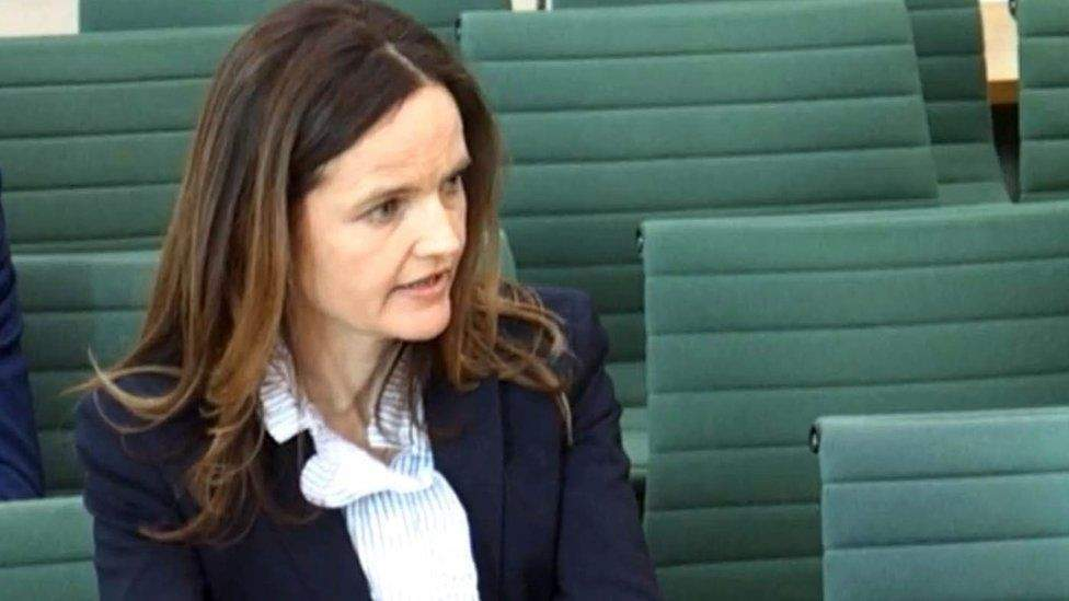 Who is Charlotte Hogg and why has she resigned?