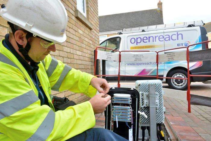 BT's Openreach fined record £42m for breaking industry rules