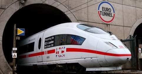 By 2020, you'll be able to take a 5-hour train from London to Frankfurt