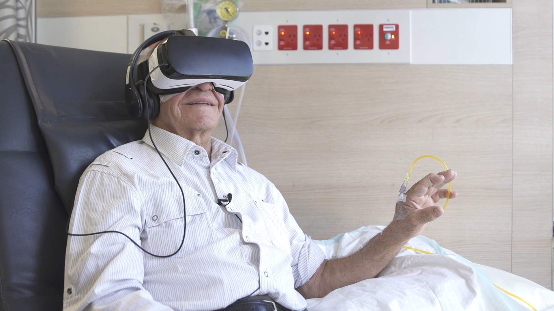 Samsung and Start VR are using virtual reality to help chemotherapy patients