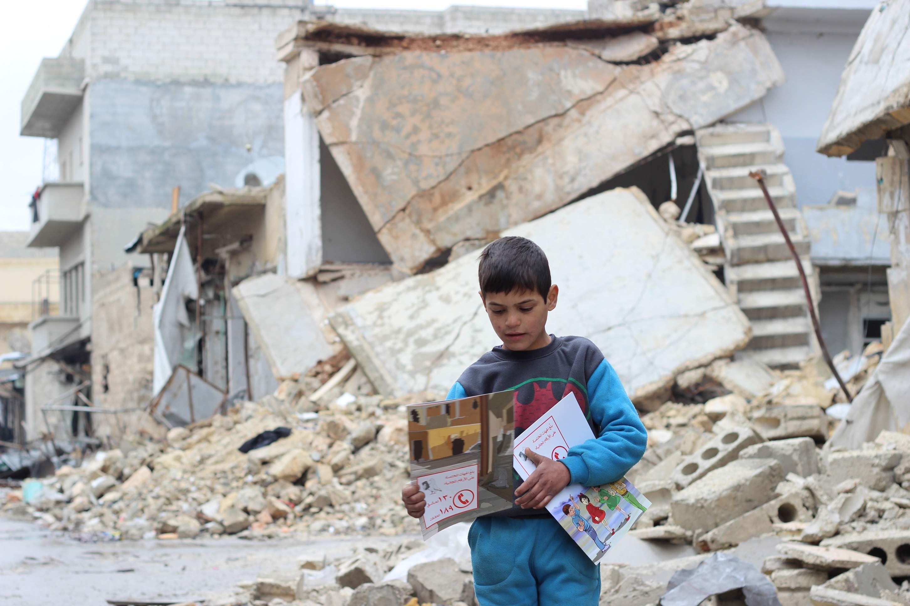 How Syria's civil war is affecting the country's children in numbers
