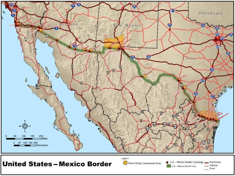 How have Donald Trump's plans for a US border wall with ...