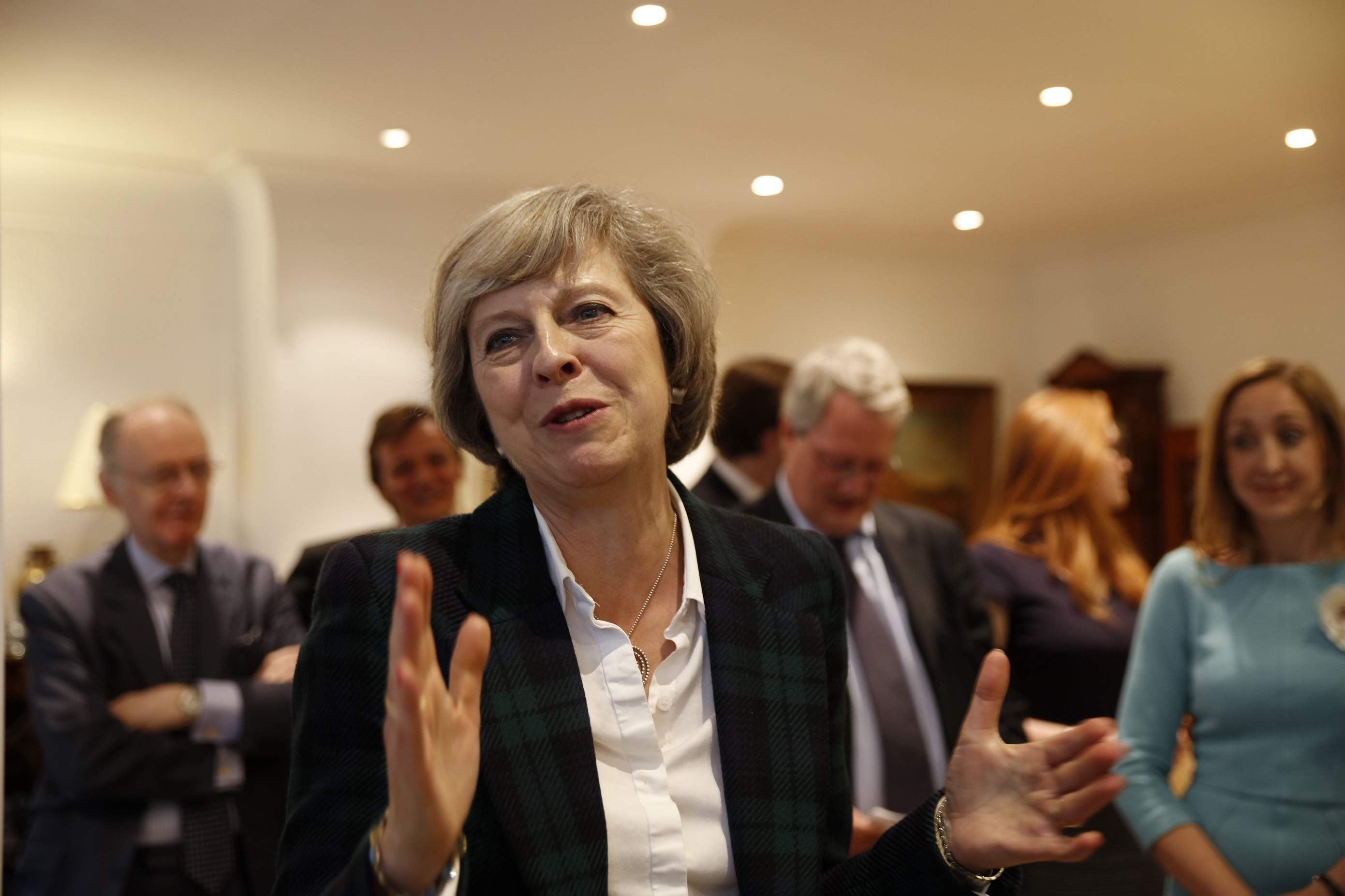 UK prime minister Theresa May announces snap general election