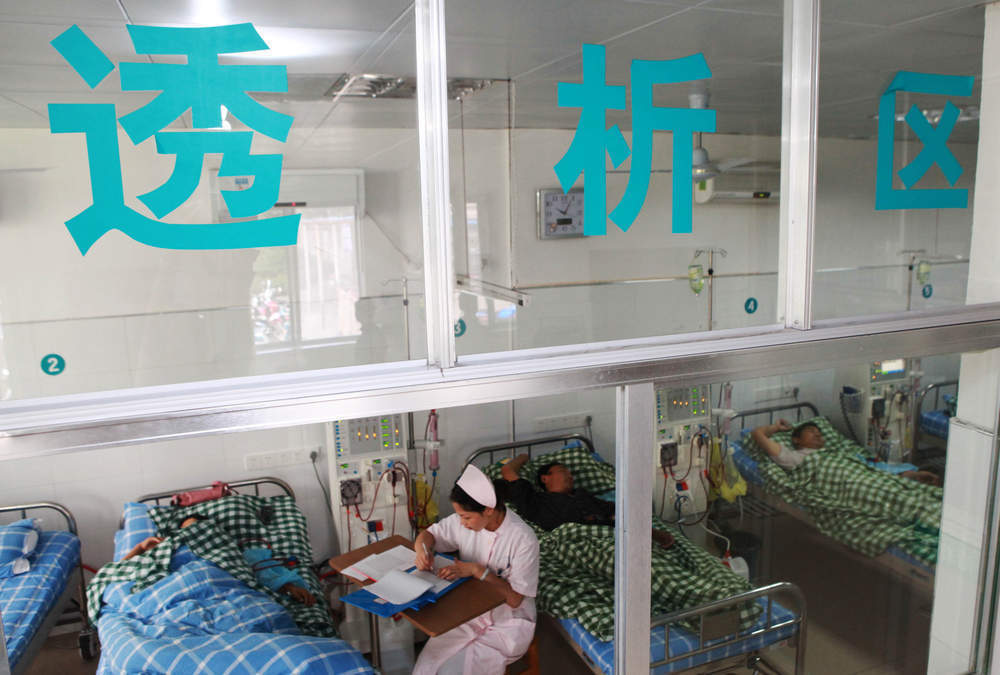 China's now a bigger pharma market than Japan and it's still growing