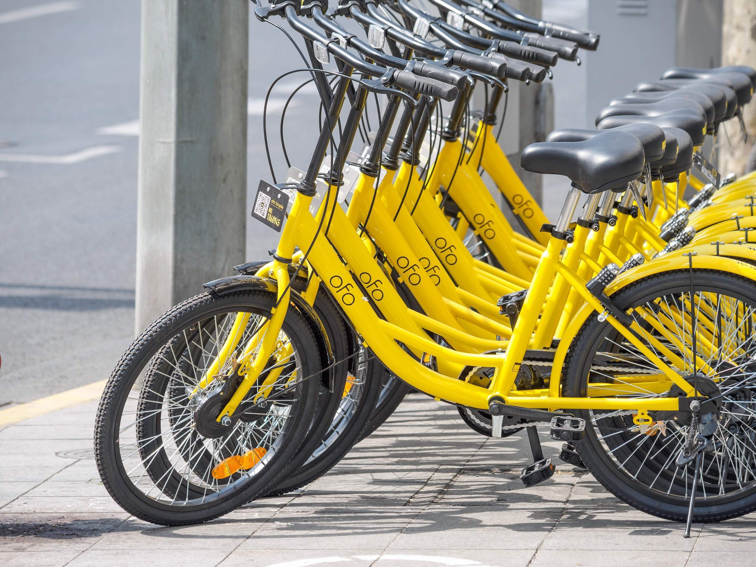 China S Bike Sharing Startups Are Using Huge Levels Of