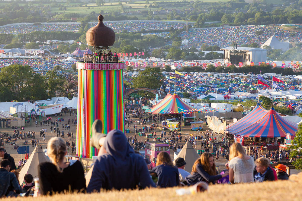 Five ways the Internet of Things could get me to an improved Glastonbury