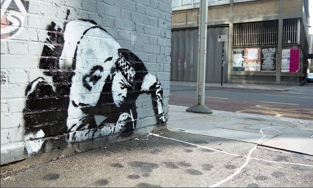 Banksy artwork thought destroyed — Snorting Copper — has been rediscovered in restorable condition