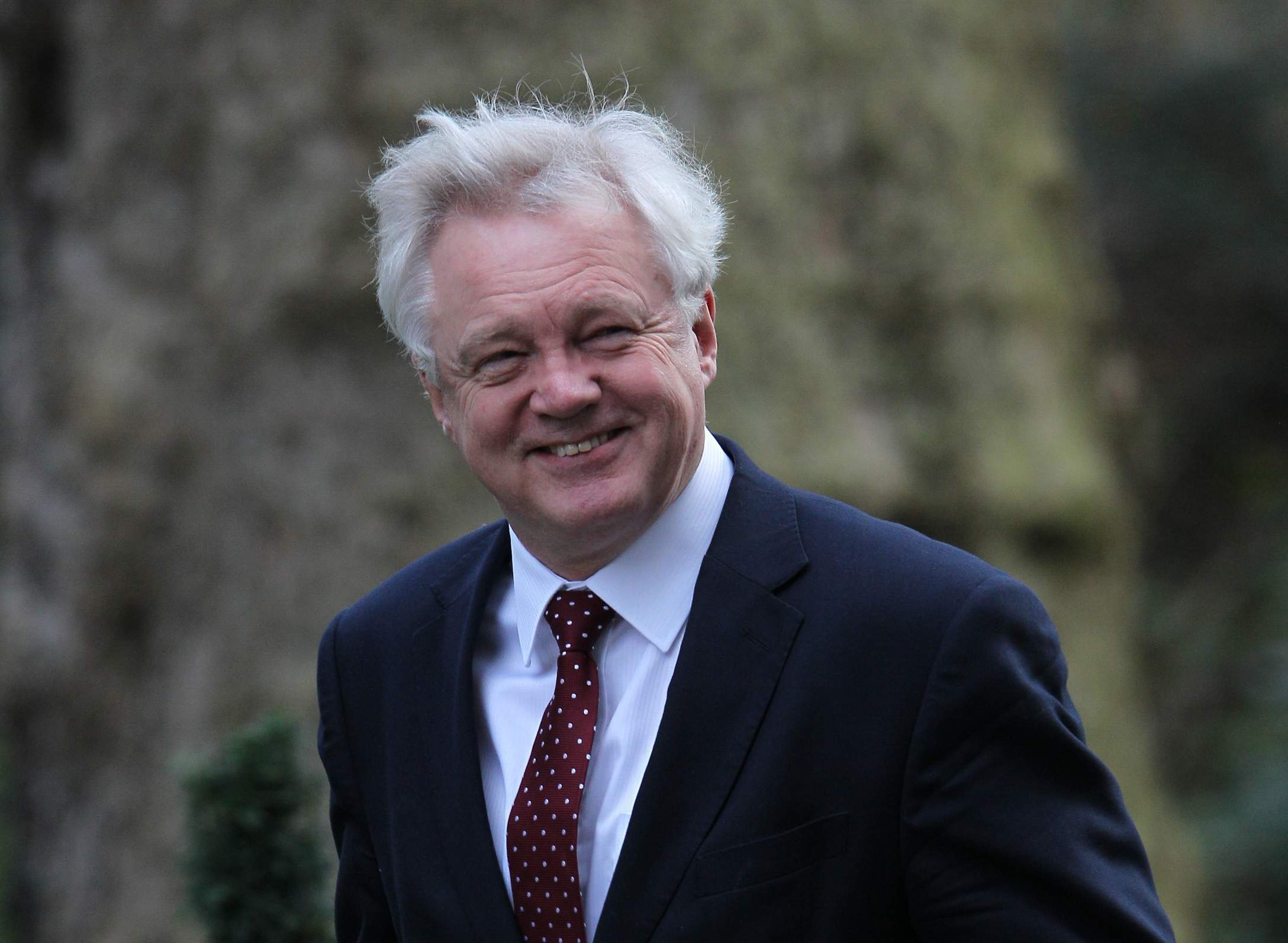 The cost of leaving the EU? We won't find out till October, says Davis