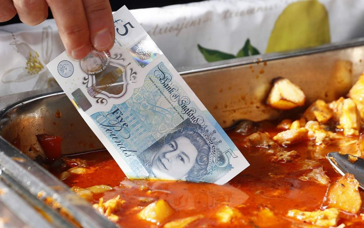 Animal fat won't be removed from Bank of England notes despite public pressure