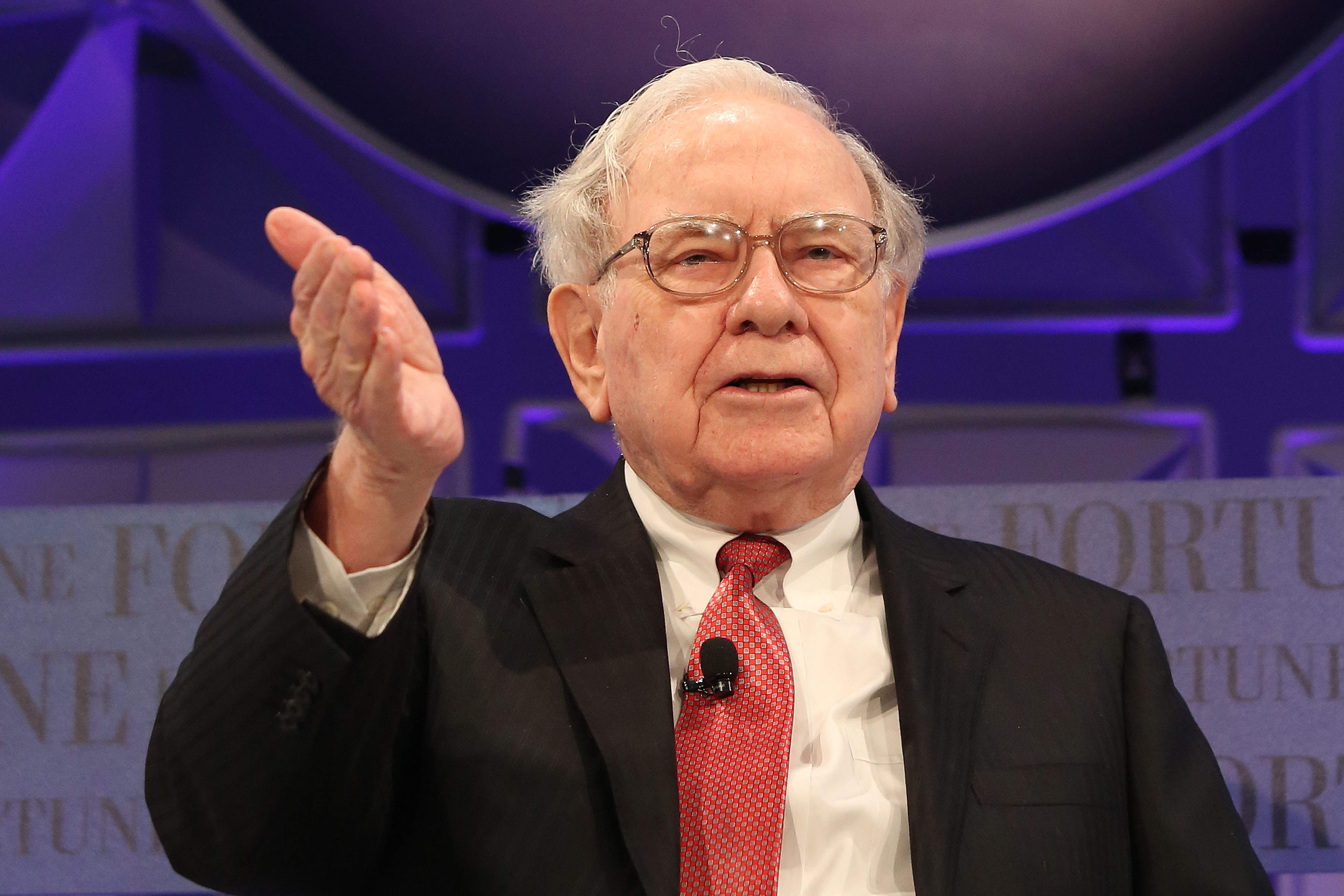 Berkshire Hathaway has so much money that Warren Buffett doesn't know how to spend it