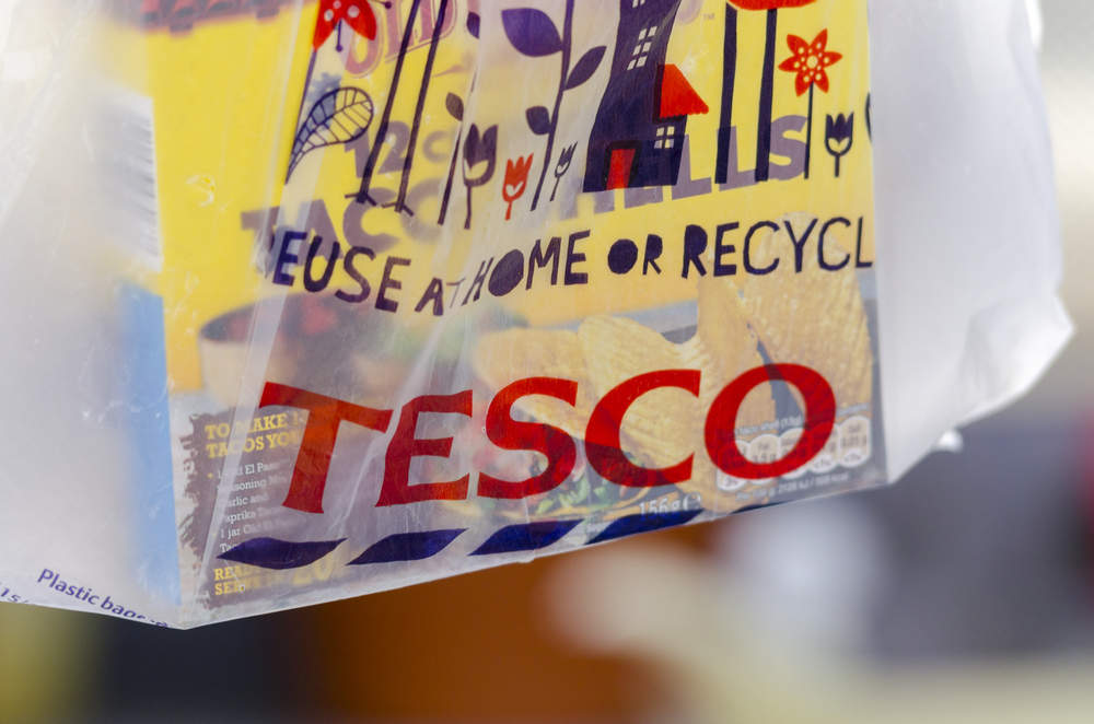 Here's how many plastic bags Tesco won't be selling each year anymore