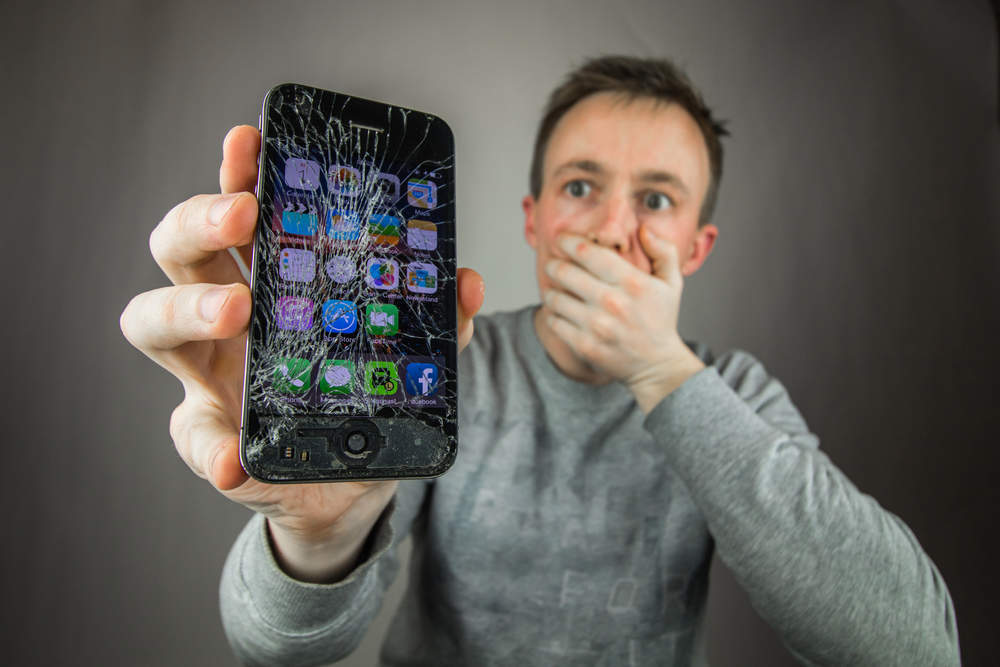 You might want to think twice before getting your phone screen repaired