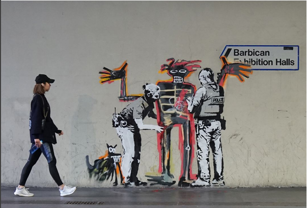 New Banksy in London - Verdict