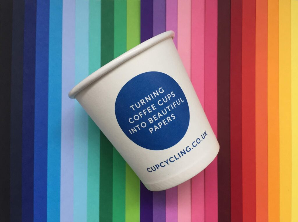 The humble coffee cup is being recycled into Selfridges bags thanks to this company
