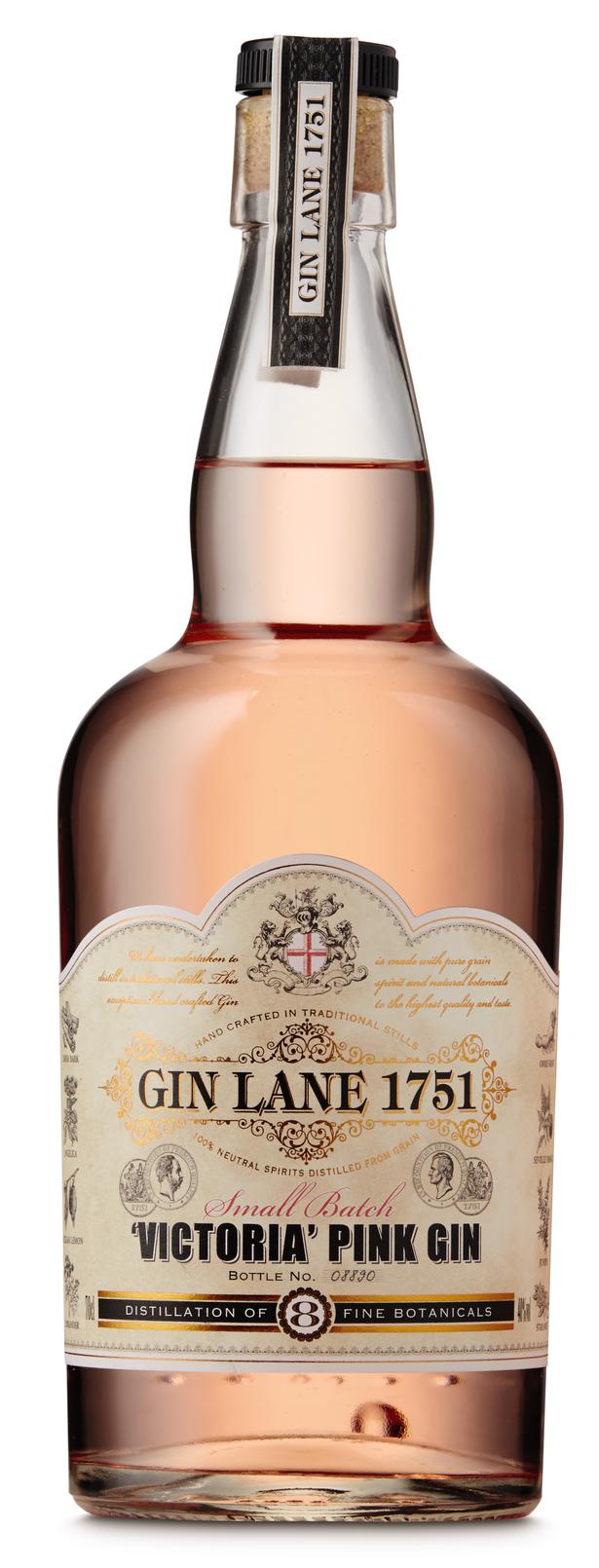 Aldi pink gin