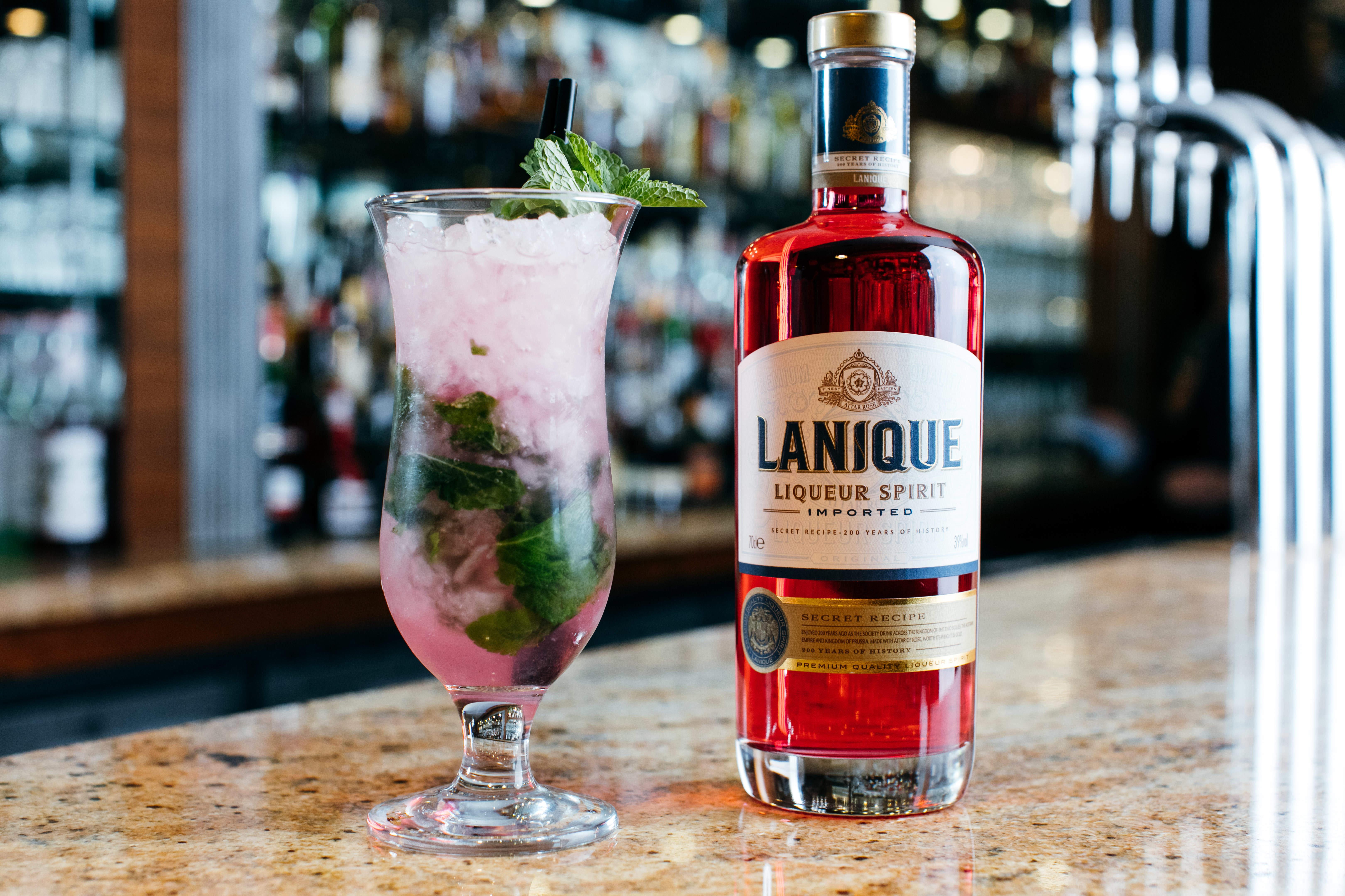 millennial pink drink