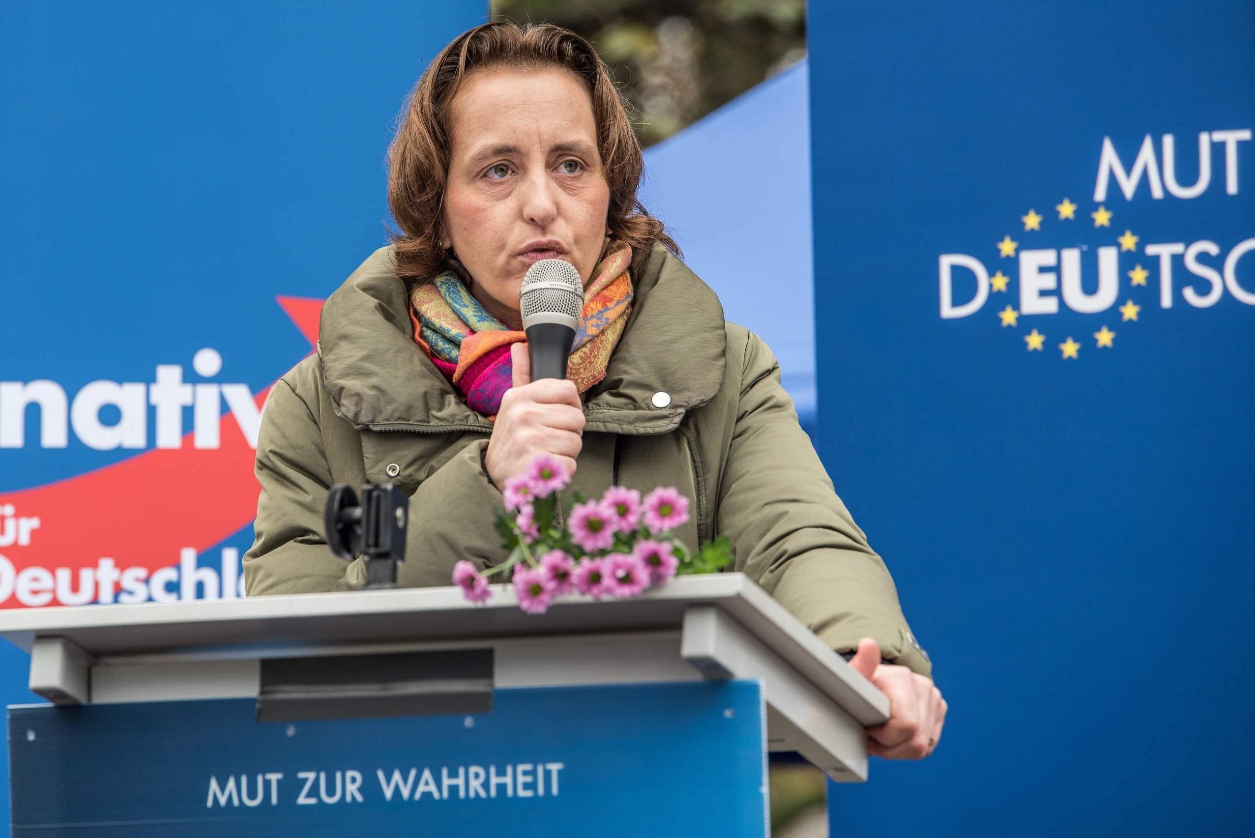 Who is Beatrix von Storch, the far-right German MEP Nigel Farage is speaking alongside tonight?