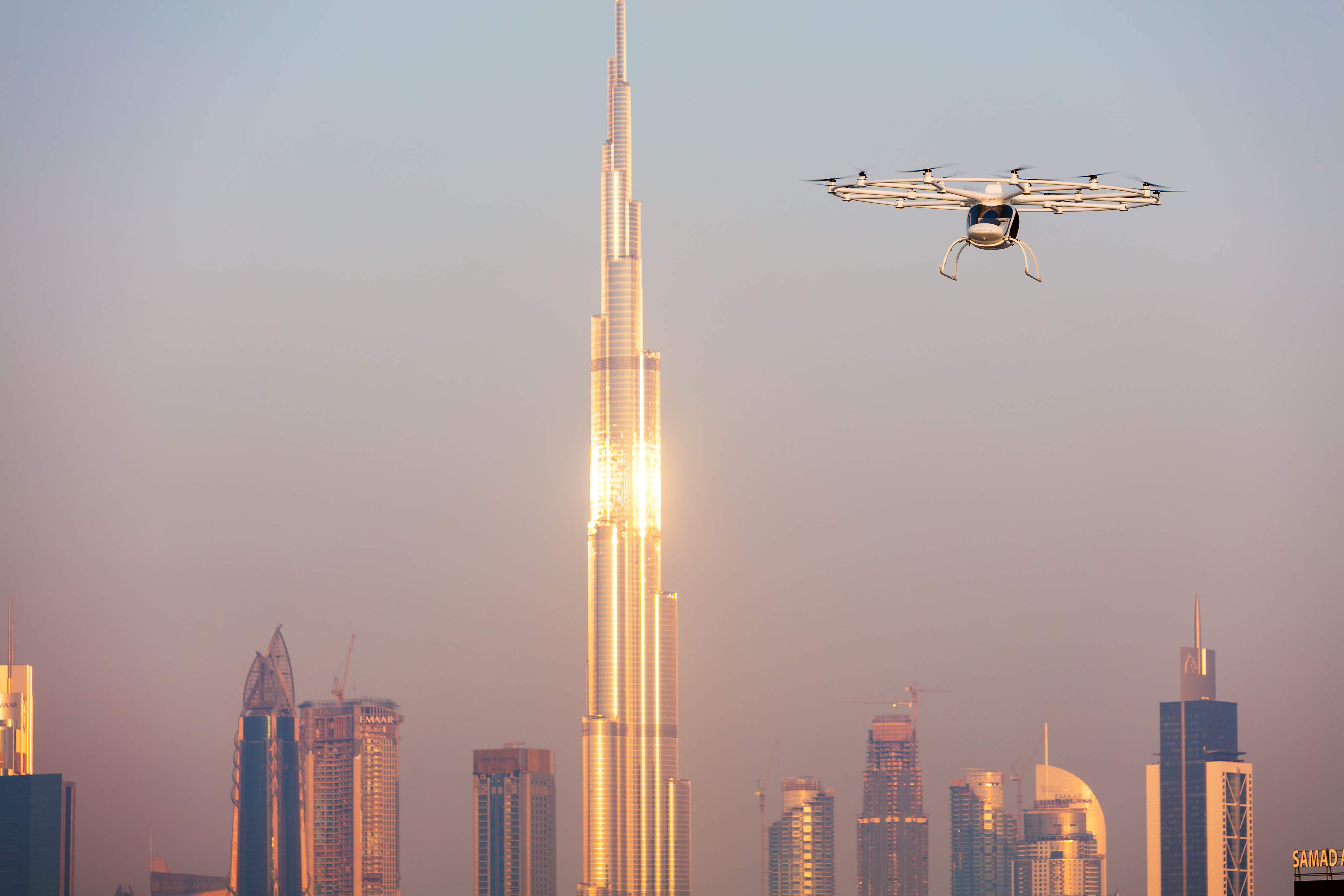 Dubai on track to become the first city with flying taxis in the next five years
