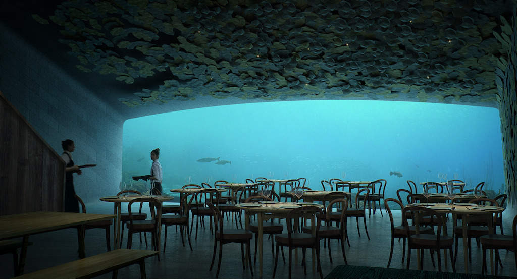 Best Underwater Restaurants In The World Including The