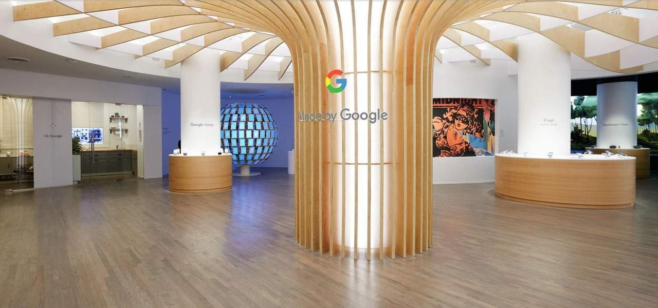 Made By Google pop-up stores