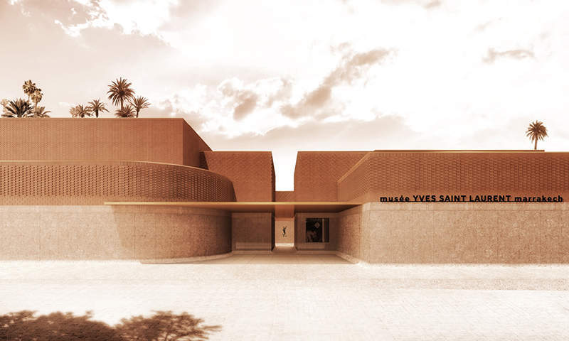 Musée Yves Saint Laurent Marrakesh