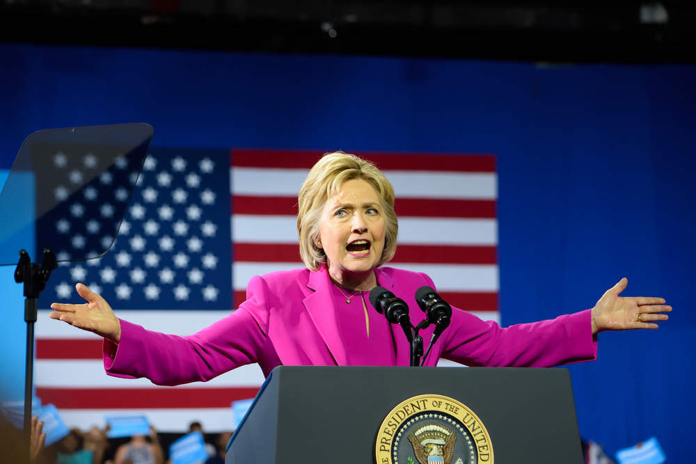 Hillary Clinton Cheltenham