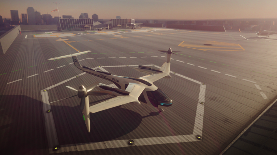 UberAir: Flying cars are coming to a city near you sooner than you think