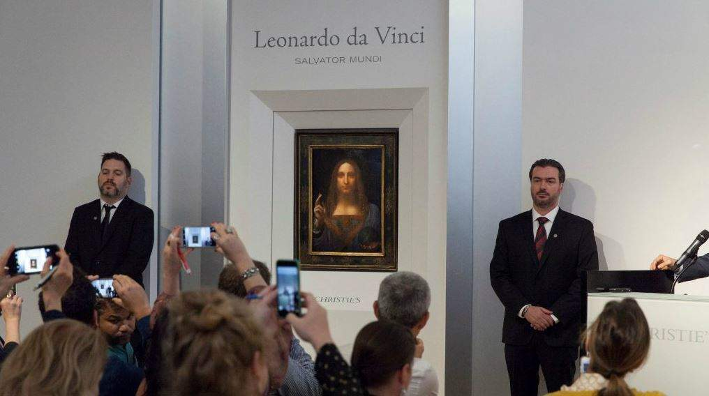 Christie's Salvator Mundi