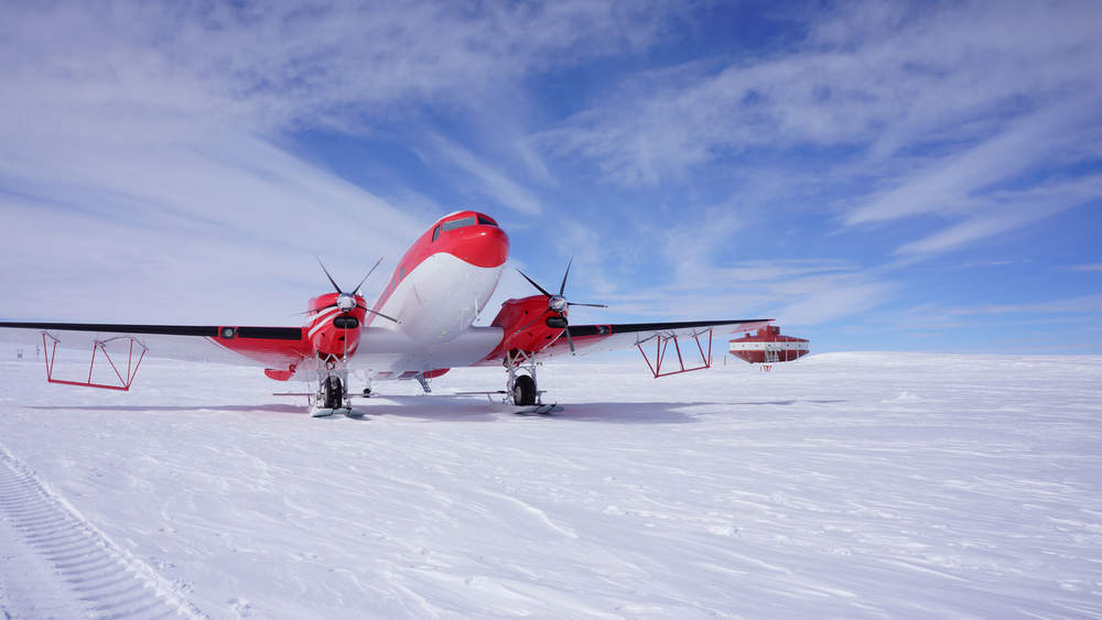 China has made its first ever flight to Antarctica