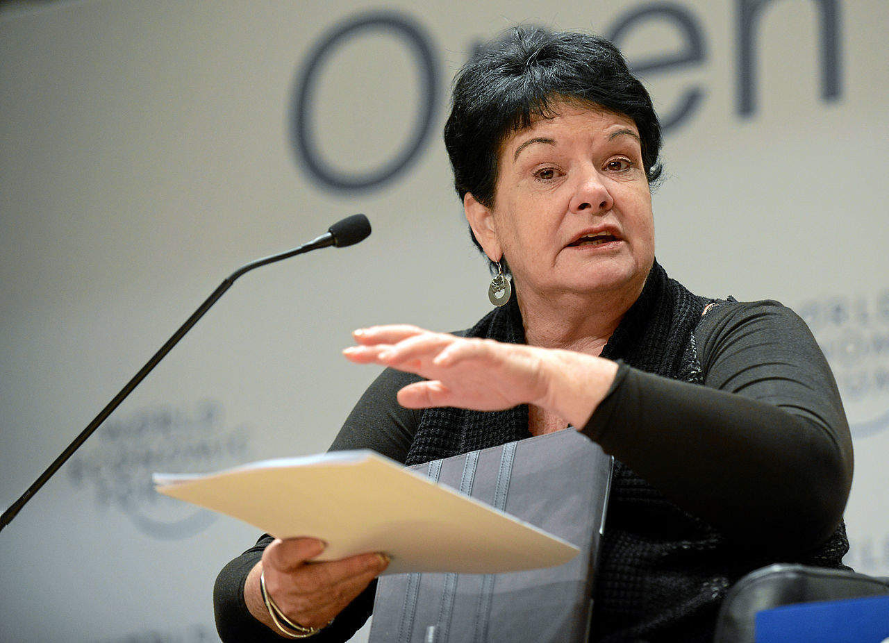 Davos co-chair Sharan Burrow speaks out: 'Corporate greed has dominated globalisation with the consequence of historical inequality'