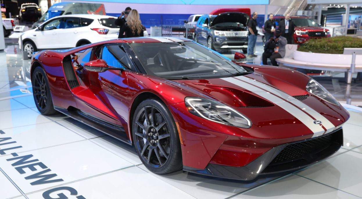 The Biggest Announcements From The Detroit Auto Show So Far - Ford show car