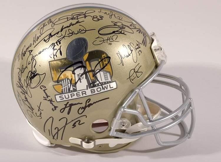 Super Bowl memorabilia - verdict