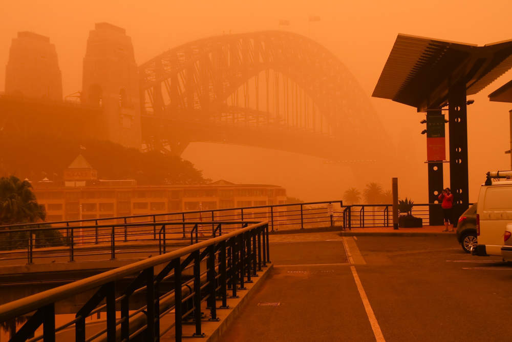Dust storm in queensland pictures - verdict